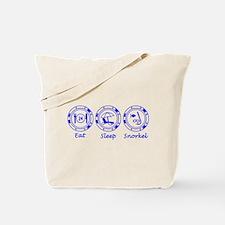 Eat Sleep Snorkel Tote Bag