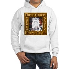 Three Graces Golden Sepia Hoodie