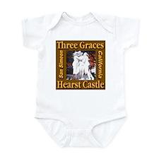 Three Graces Golden Sepia Infant Creeper