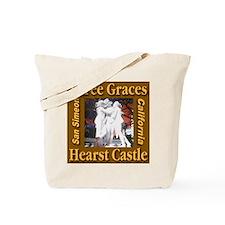 Three Graces Golden Sepia Tote Bag