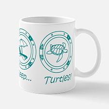 Eat Sleep Turtles! Mug