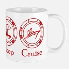 Eat Sleep Cruise Mug