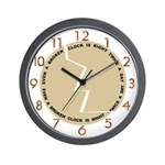 "SERIES G:  ""Broken Clock Design"" Wall Clock"