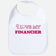 I love my Financier Baby Bib