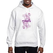 Midwife Floral Swirl Hoodie