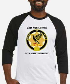 DUI - 2nd Sqdrn - 1st Cavalry Regt with Text Baseb