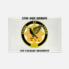 DUI - 2nd Sqdrn - 1st Cavalry Regt with Text Recta