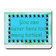 Turtle saying Mousepad