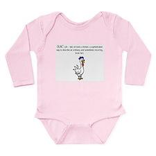 OLAC Long Sleeve Infant Bodysuit