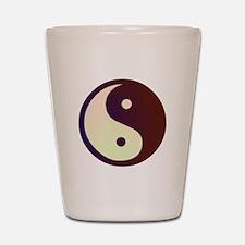 Prismatic Yin Yang Shot Glass