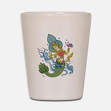 Hindu Mermaid Shot Glass
