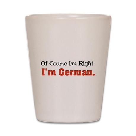 I'm German Shot Glass
