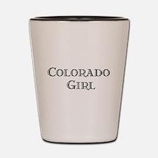 Colorado Girl Shot Glass