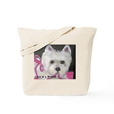 Westie West Highland Tote Bag