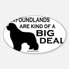 Big Deal Sticker (Oval)