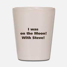 Moon with Steve Shot Glass