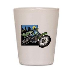 Zooom - Dirt Bike Shot Glass