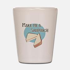 Make Me a Sandwich Shot Glass