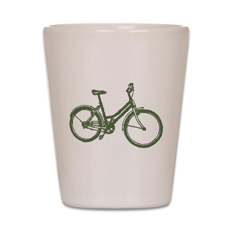 Bicycle Shot Glass