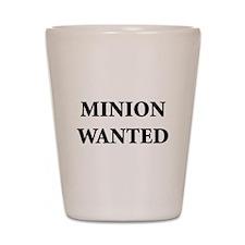 Minion Wanted Shot Glass