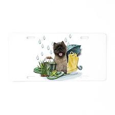 Cairn Terrier Aluminum License Plate