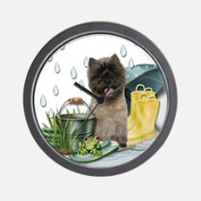 Cairn Terrier Wall Clock