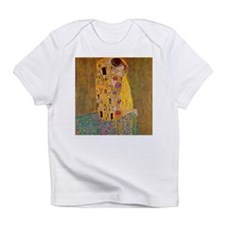 The Kiss by Klimt Infant T-Shirt