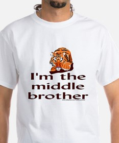 """I'm the middle brother"" Tiger Shirt"