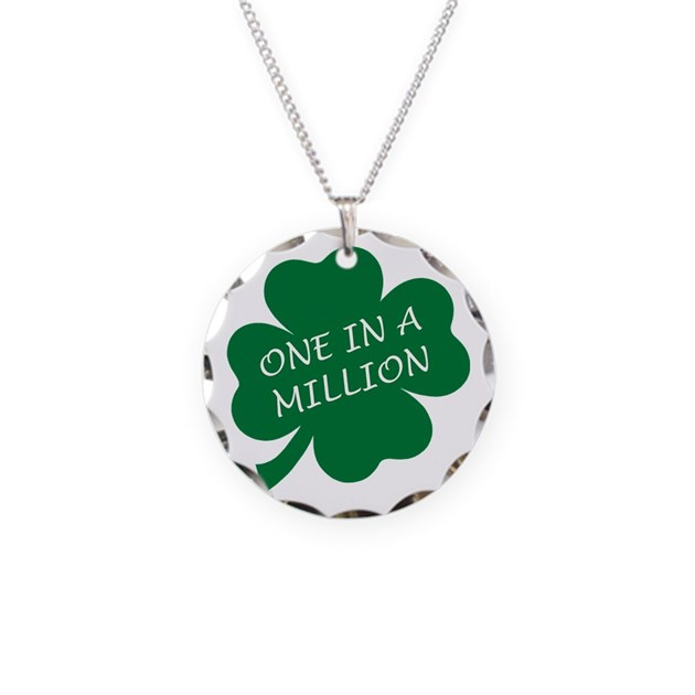 one in a million necklace by expressivemind