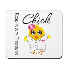 Respiratory Therapist Chick Mousepad