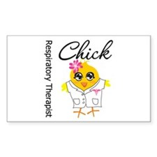 Respiratory Therapist Chick Decal