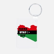 Obama Stay Out Keychains