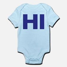 CRAZYFISH kids hi Infant Bodysuit