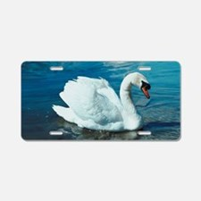 Swan Aluminum License Plate