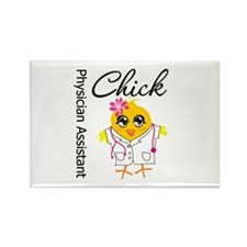 Physician Assistant Chick Rectangle Magnet