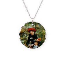 Renoir Two Sisters Necklace
