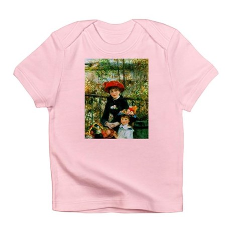 Renoir Two Sisters Infant T-Shirt
