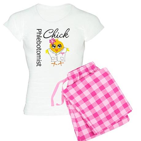Phlebotomist Chick Women's Light Pajamas