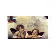 Raphael's Angels Aluminum License Plate