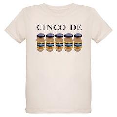 Cinco De Mayo on light T-Shirt
