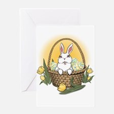 Easter Bunny Greeting Card Bunny Rabbit Cards