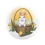"Easter Bunny 3.5"" Button"
