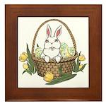 Easter Bunny Framed Tile