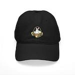 Easter Bunny Black Cap