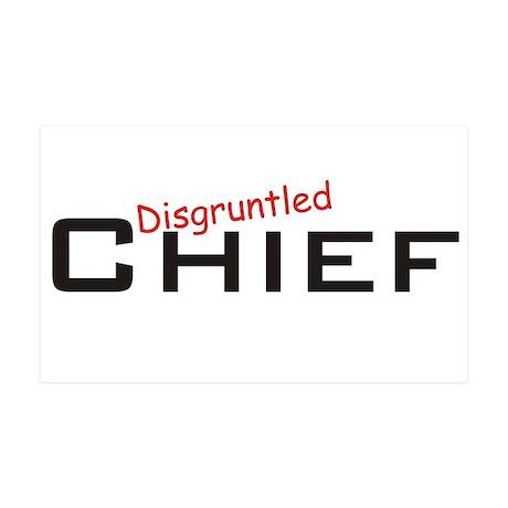 Disgruntled Chief 38.5 x 24.5 Wall Peel