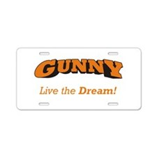 Gunny - LTD Aluminum License Plate