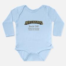 Mechanic - Back Off Long Sleeve Infant Bodysuit