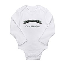 Recruiter - On a Mission Long Sleeve Infant Bodysu