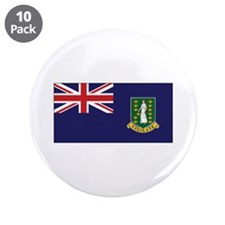 "BVI Flag 3.5"" Button (10 pack)"