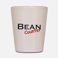 Bean Counter Shot Glass